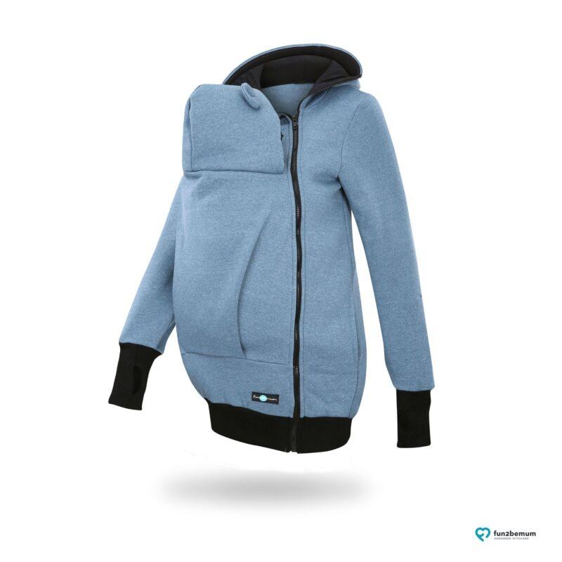 Fun2bemum babywearing sweatshirt jacket Maya bluza do noszenia-2 jeans