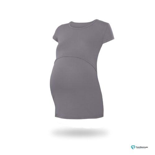 Fun2bemum maternity nursing top Chloe ciazowa bluzka do karmienia (3) - grafitowy