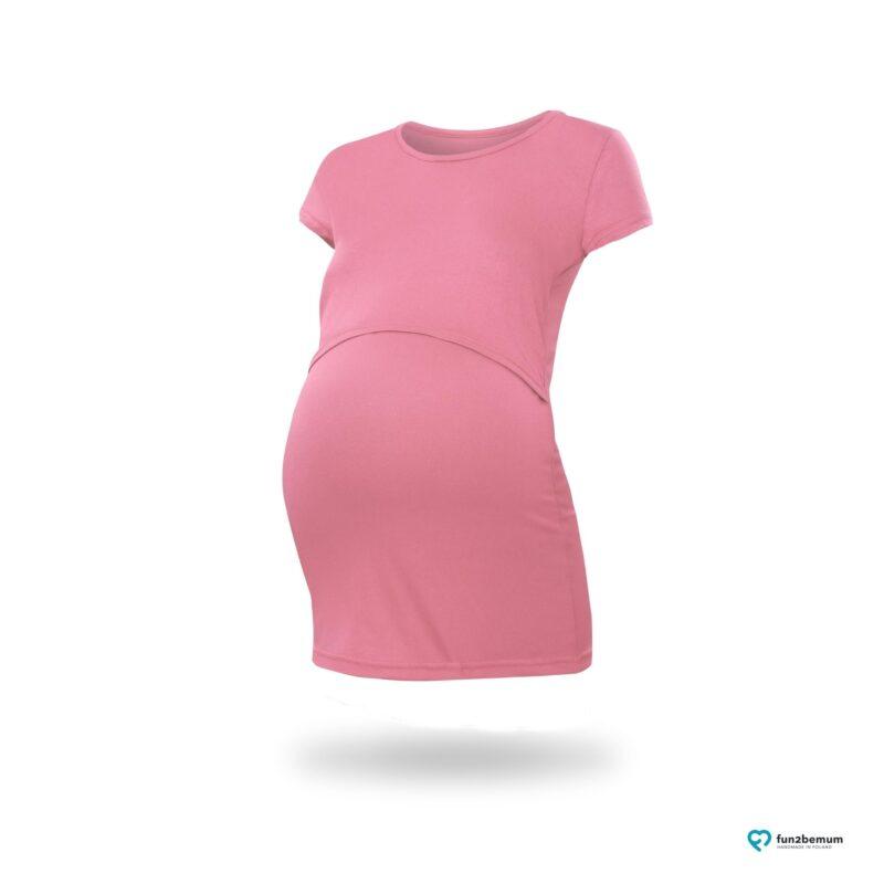 Fun2bemum maternity nursing top Chloe ciazowa bluzka do karmienia (5) - brudny roz