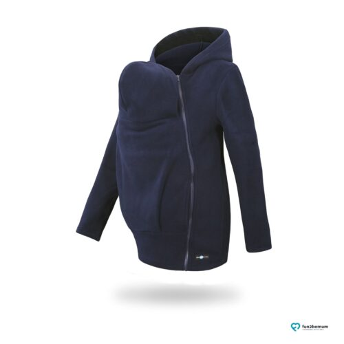 Fun2bemum babywearing fleece jacket Basic bluza do noszenia-3 navy
