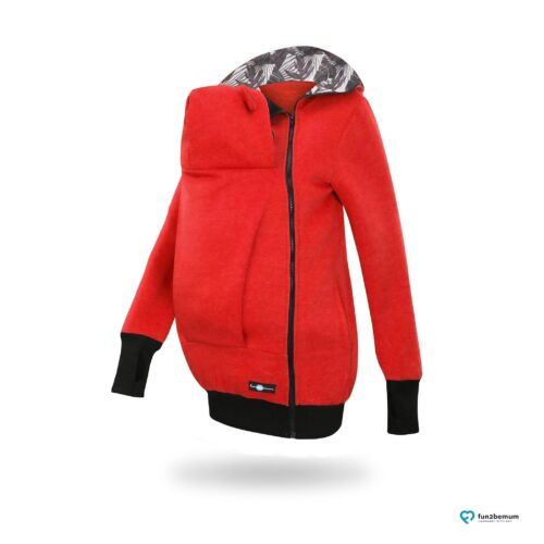 Fun2bemum babywearing fleece jacket Little Bear bluza do noszenia-6