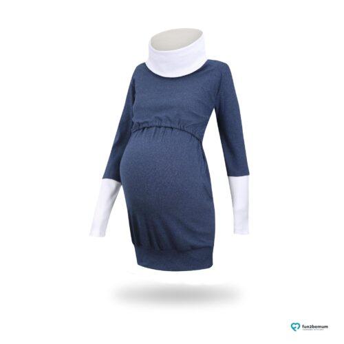 Fun2bemum maternity nursing tunic sweatshirt Olivia tunika ciazowa do karmienia-3 jeans