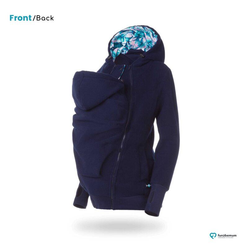 Fun2bemum polar dla dwojga babywearing jacket polar fleece Koala navy