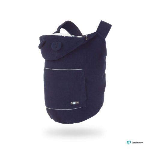 Fun2bemum babywearing fleece cover oslonka ghost (2) - granatowa