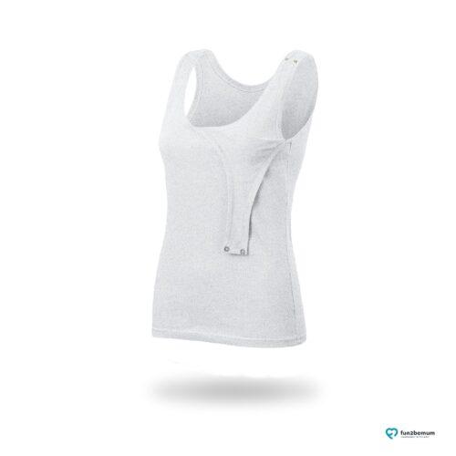 Fun2bemum maternity nursing tank top Emma ciazowa bluzka do karmienia-1 grey