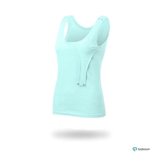 Fun2bemum maternity nursing tank top Emma ciazowa bluzka do karmienia-5 mint