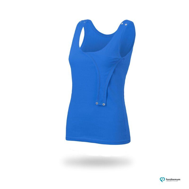 Fun2bemum maternity nursing tank top Emma ciazowa bluzka do karmienia-8 blue