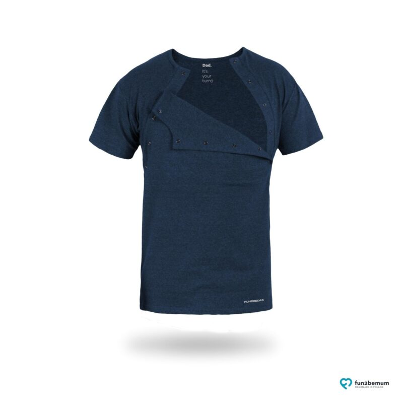 Fun2bemum koszulka do kangurowania skin to skin bonding T-shirt-3