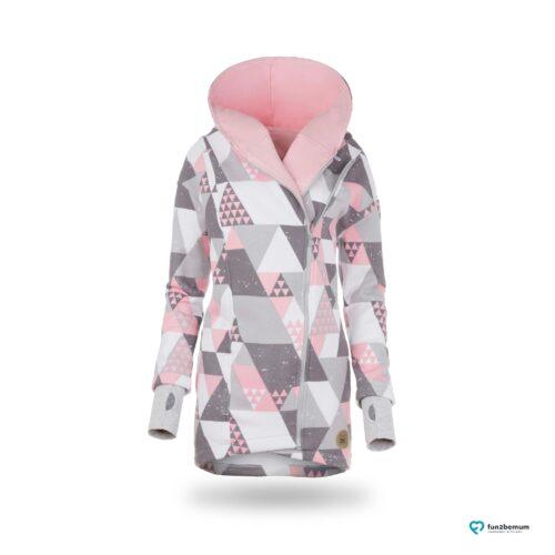 Fun2bemum babywearing coat plaszcz do noszenia ghost (10 - trójkąty)