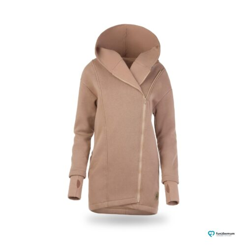Fun2bemum babywearing coat plaszcz do noszenia ghost (2) - latte