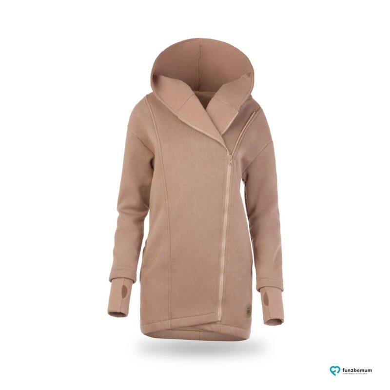Fun2bemum babywearing coat plaszcz do noszenia ghost (2) - latte