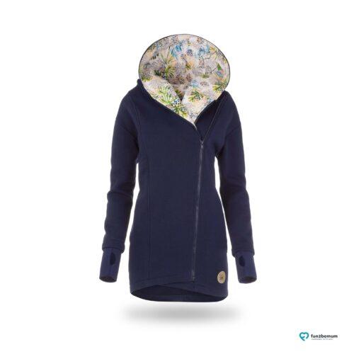 Fun2bemum babywearing coat plaszcz do noszenia ghost (3) - granatowy