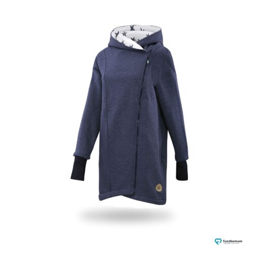 Fun2bemum_b bywearing coat plaszcz do noszenia ghost (7) - jeans