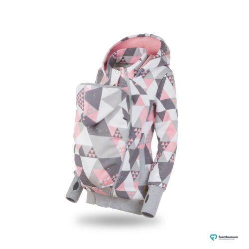 Fun2bemum babywearing sweatshirt bluza pola ghost (2) - trójkąty