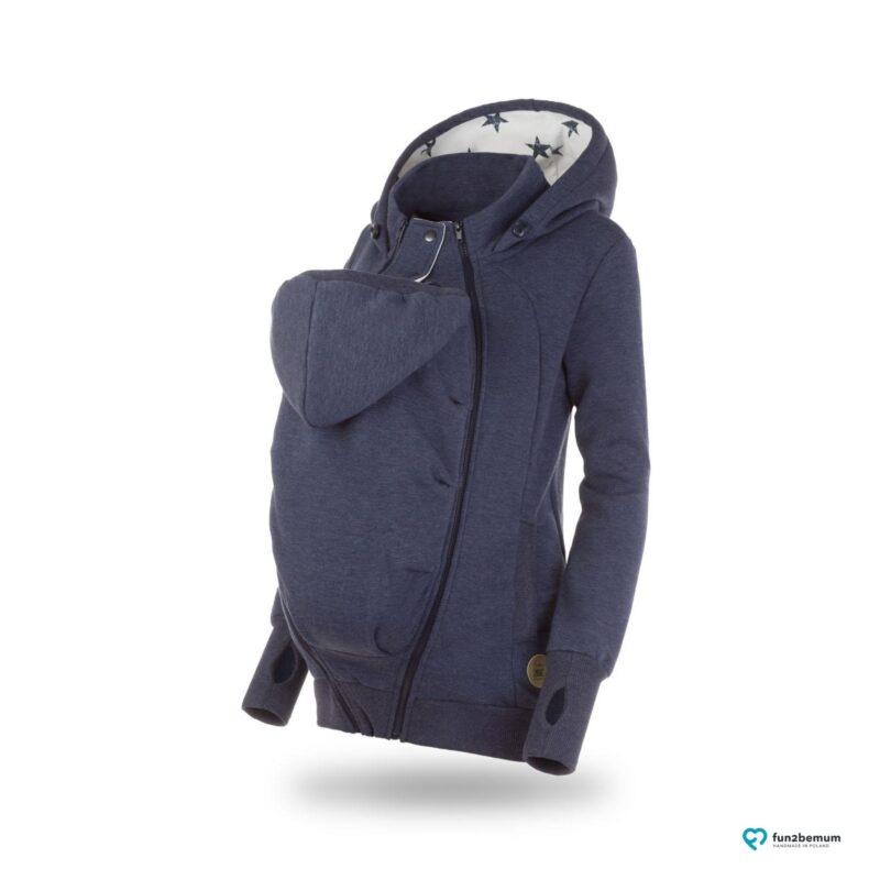 Fun2bemum babywearing sweatshirt bluza pola ghost (3) - jeans