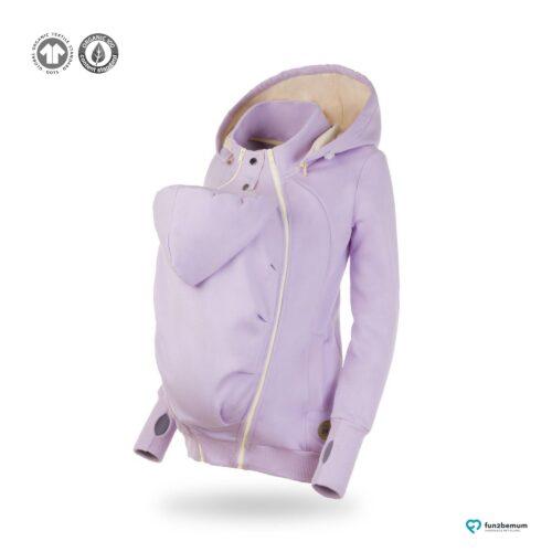 Fun2bemum babywearing sweatshirt bluza pola ghost (5) - lawenda