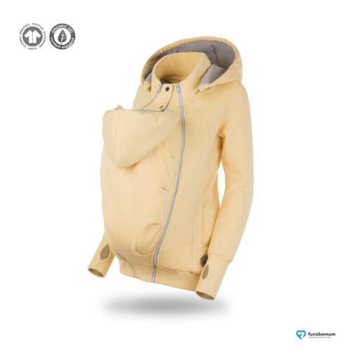 Fun2bemum babywearing sweatshirt bluza pola ghost (6) - bananowa