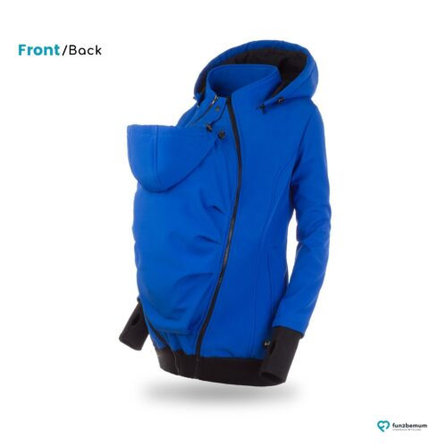 Fun2bemum babywearing softshell jacket Everest do noszenia-4 cornflower blue