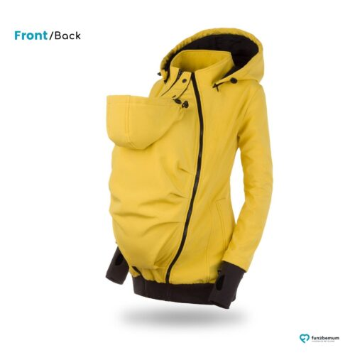 Fun2bemum babywearing softshell jacket Everest do noszenia-4