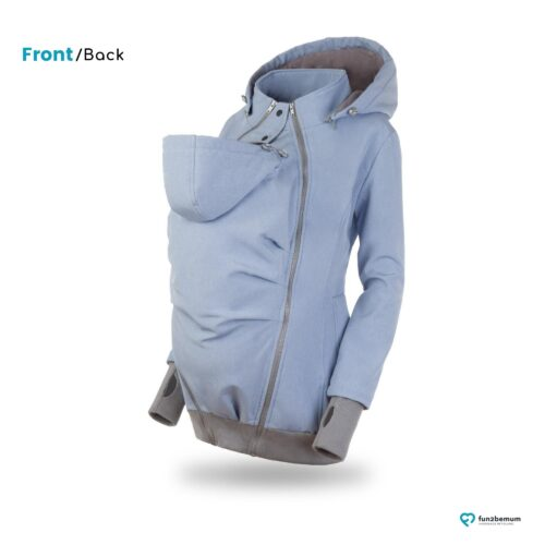 Fun2bemum babywearing softshell jacket Everest do noszenia-8