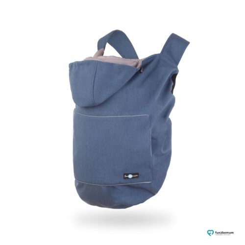 Fun2bemum babywearing softshell cover ghost (12) - granat melanż