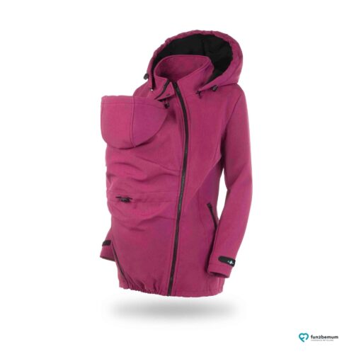Fun2bemum babywearing softshell jacket Enigma do noszenia-1