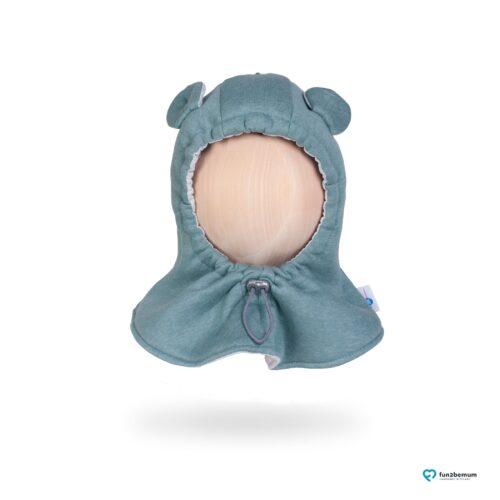 Fun2bemum baby hat balaclava czapeczka dla dzieci mięta mint