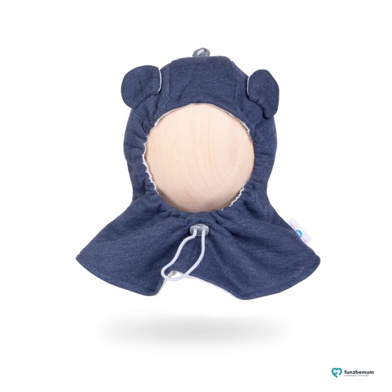 Fun2bemum baby hat balaclava czapeczka dla dzieci jeans