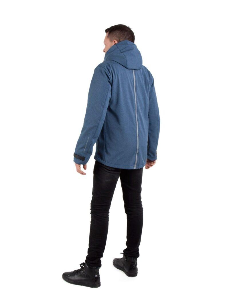 Fun2bemum babywearing softshell jacket for dads kurtka dla taty indigo melange_2