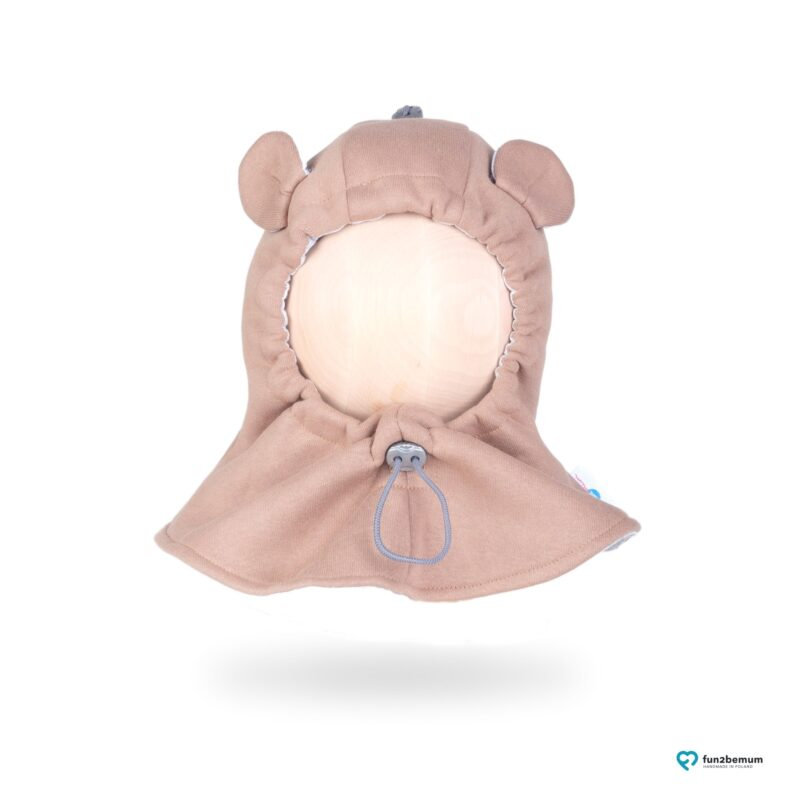 Fun2bemum kominiarka dla dzieci balaclava hat brown