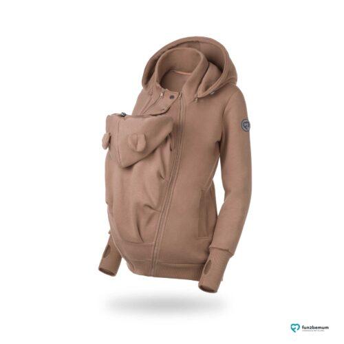 Fun2bemum Pola babywearing sweatshirt bluza do noszenia Latte