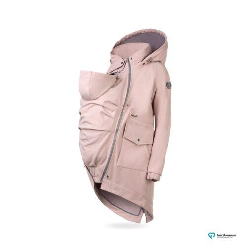 Fun2bemum babywearing parka softshell coat jacket maternity kurtka do noszenia ciazowa jasny roz