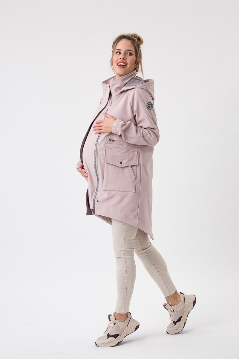 Fun2bemum babywearing softshell parka coat maternity plaszcz do noszenia dzieci ciazowy Jasny roz 1
