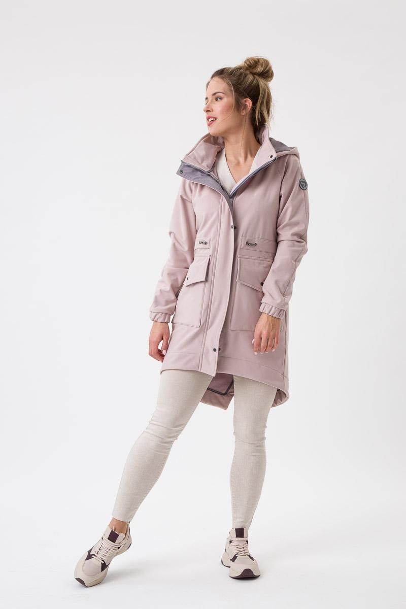 Fun2bemum babywearing softshell parka coat maternity plaszcz do noszenia dzieci ciazowy Jasny roz 2