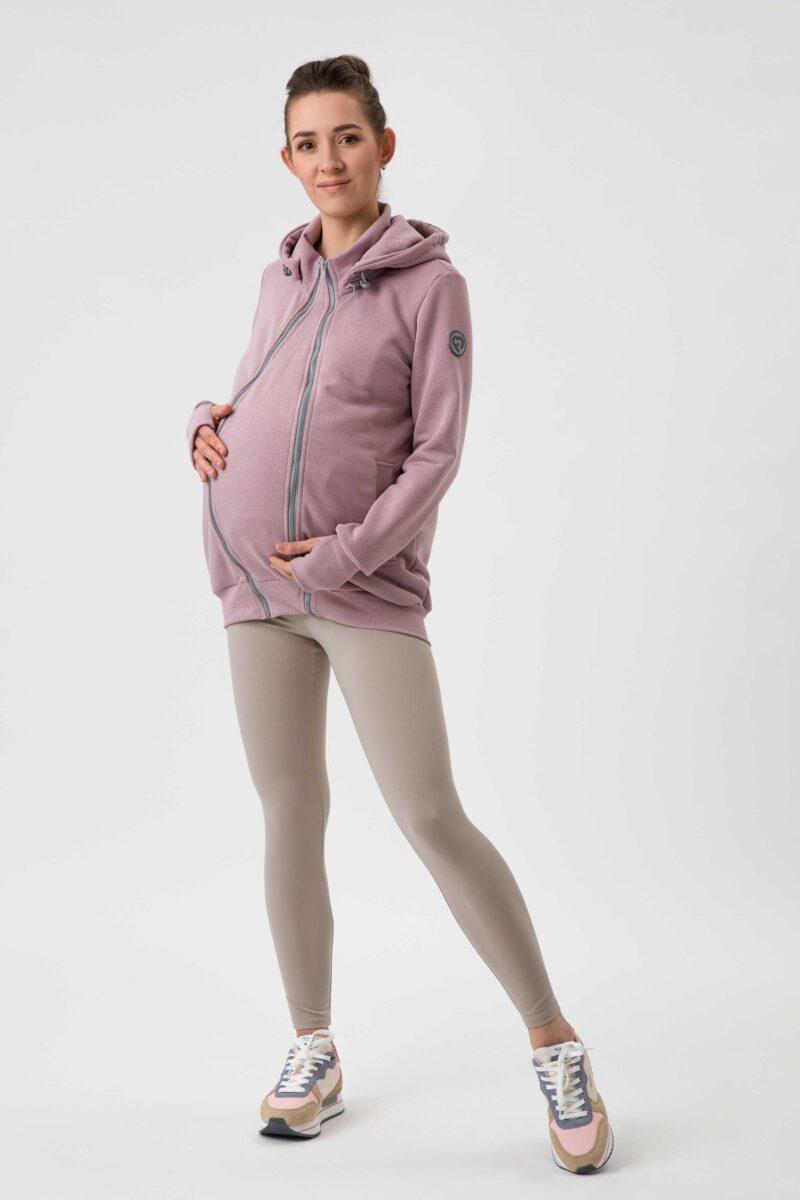 Fun2bemum babywearing sweatshirt bluza do noszenia Pola dirty pink brudny roz 8