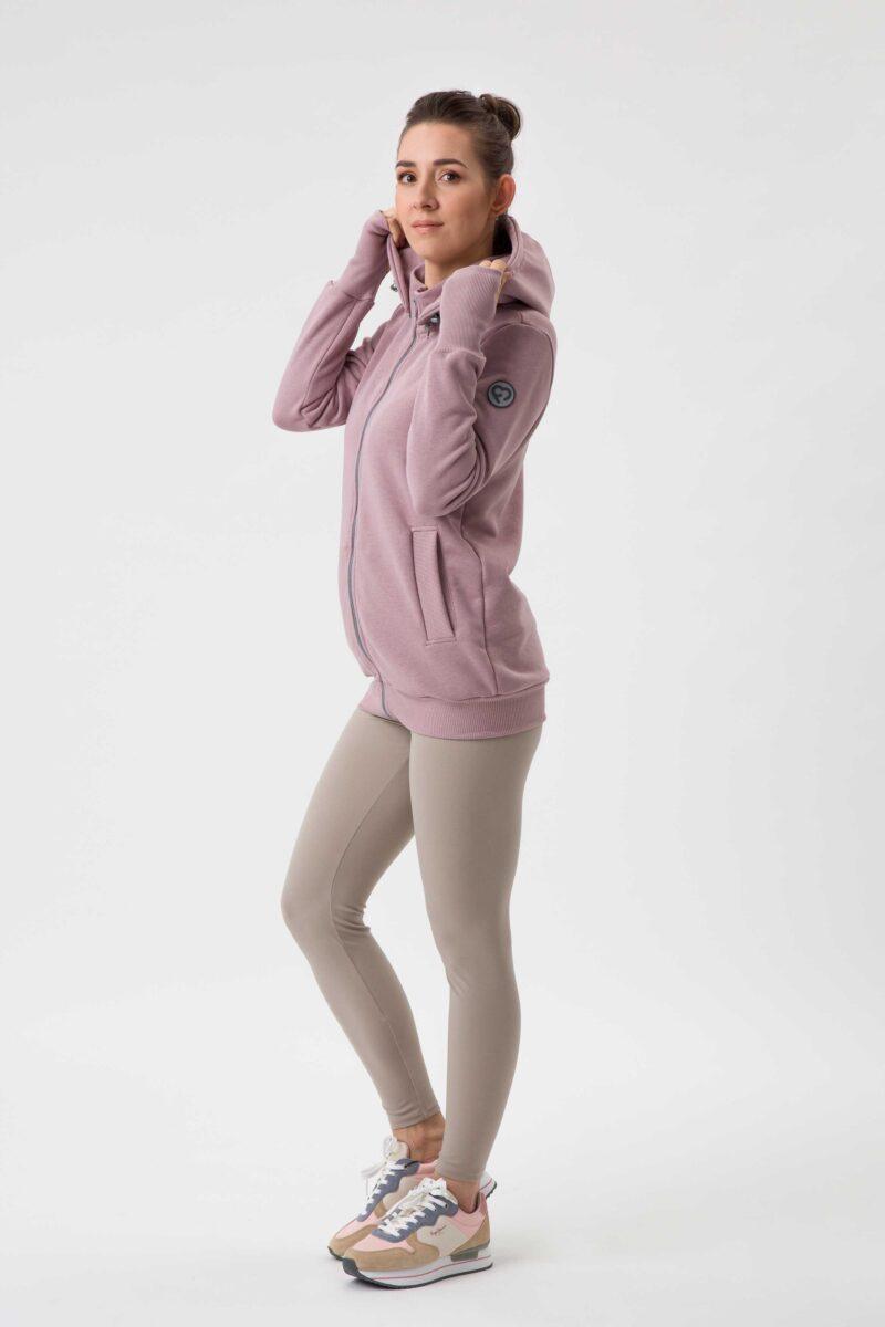 Fun2bemum babywearing sweatshirt bluza do noszenia Pola dirty pink brudny roz 9