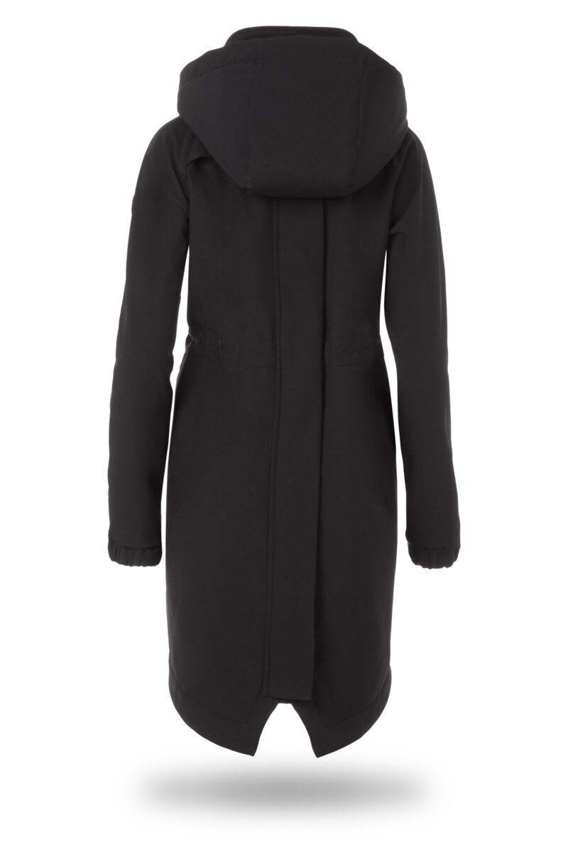 Fun2bemum kurtka parka softshell do noszenia dzieci babywearing maternity jacket black czarny 5