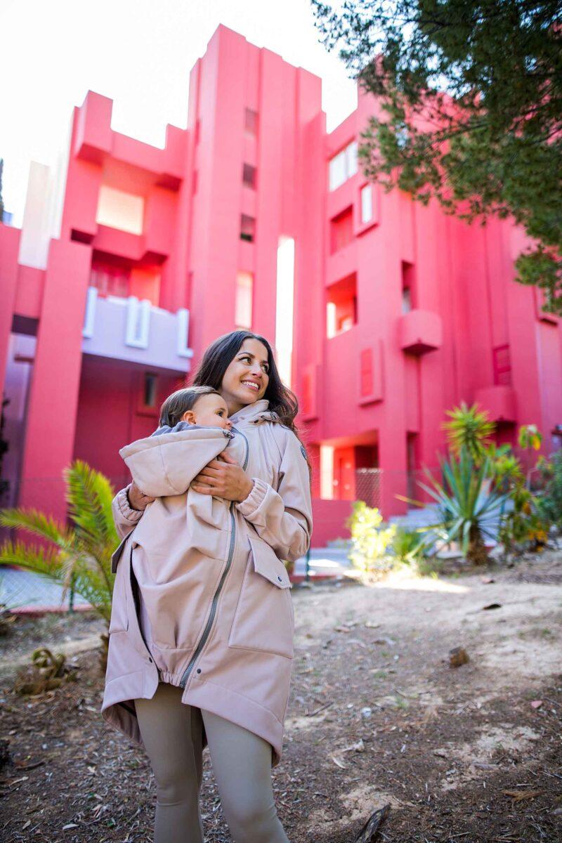Fun2bemum babywearing parka coat jacket maternity ciazowa do noszenia dzieci