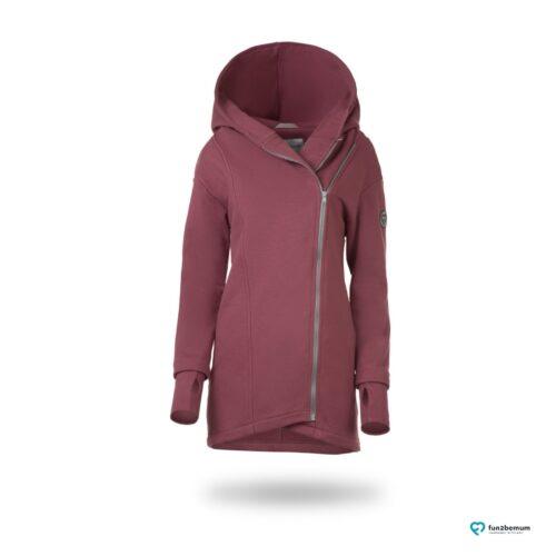 Fun2bemum babywearing coat Kaya maternity plaszcz do noszenia ciazowy rose brown