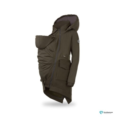 Fun2bemum babywearing parka softshell coat jacket maternity kurtka do noszenia ciazowa