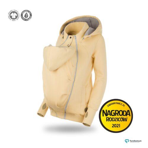 Fun2bemum bluza ciazowa do noszenia dziecka babywearing sweatshirt banana
