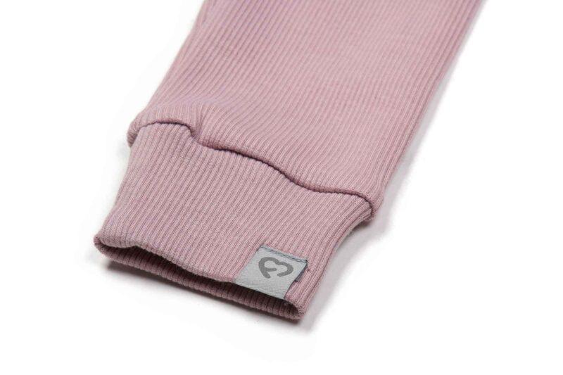Fun2bemum dres dzieciecy dla dzieci prazkowany babywearing cotton overall for kids dirty pink brudny roz 2