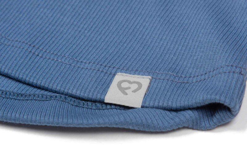 Fun2bemum dres dzieciecy dla dzieci prazkowany babywearing cotton overall for kids jeans blue niebieski 3