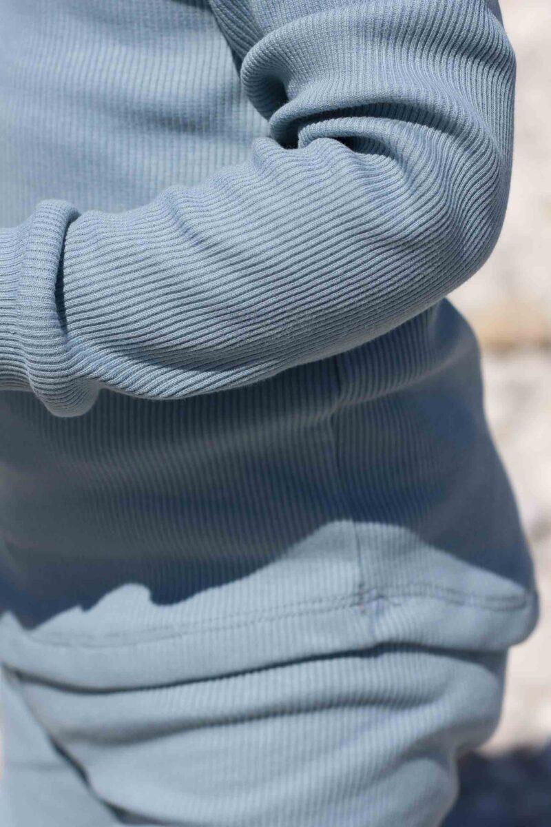 Fun2bemum dres dzieciecy dla dzieci prazkowany babywearing cotton overall for kids lifestyle 17