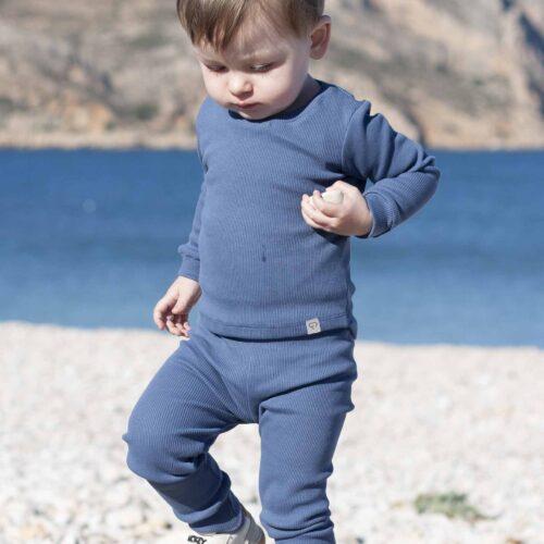 Fun2bemum dres dzieciecy dla dzieci prazkowany babywearing cotton overall for kids lifestyle