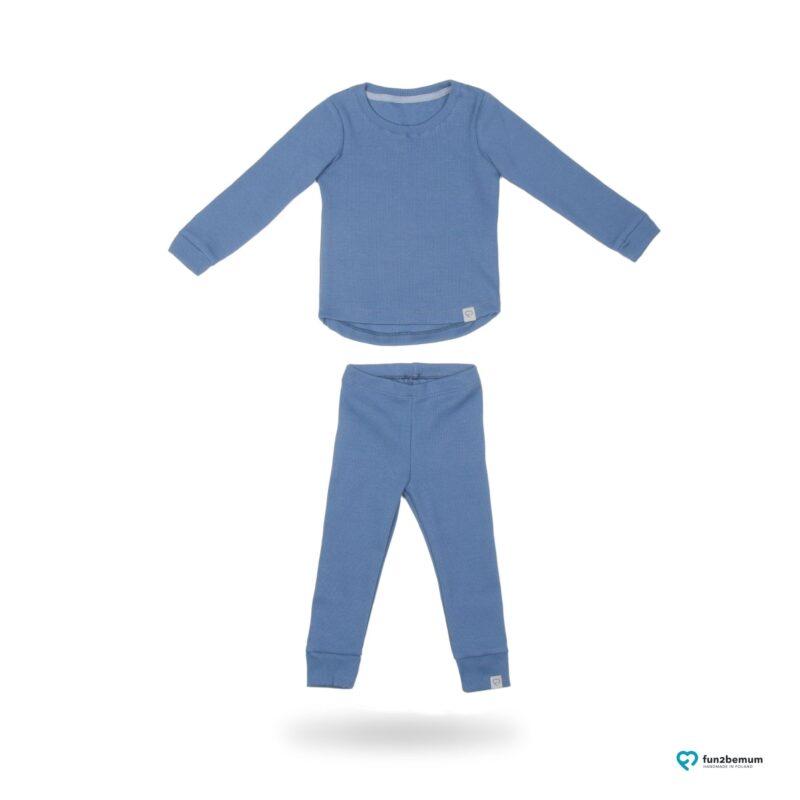 Fun2bemum dres dzieciecy dla dzieci prazkowany babywearing cotton overall for kids main 2
