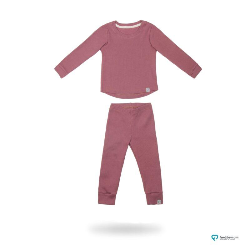 Fun2bemum dres dzieciecy dla dzieci prazkowany babywearing cotton overall for kids main 3