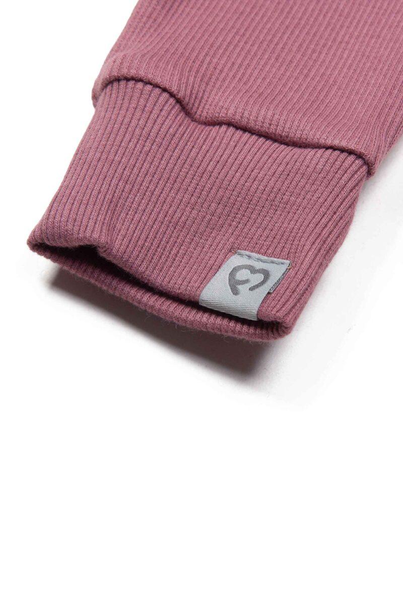 Fun2bemum dres dzieciecy dla dzieci prazkowany babywearing cotton overall for kids rose brown 2