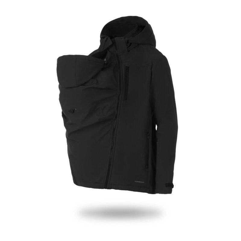 Fun2bemum babywearing jacket for dads Elbrus kurtka do noszenia dzieci dla taty 4