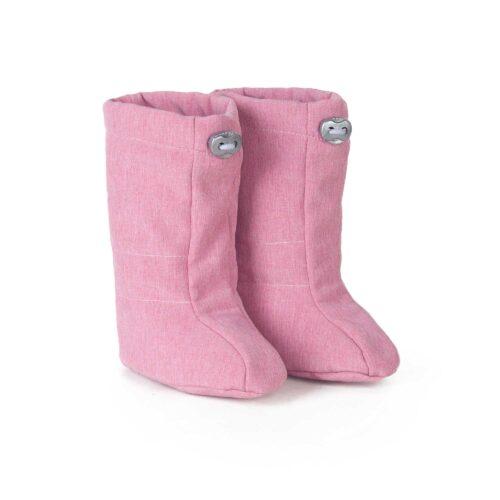 fun2bemum softshell boots dust pink ocieplacze softshell